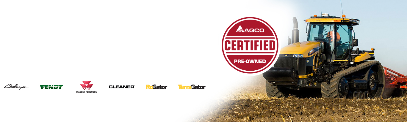 Certified Pre-owned Equipment